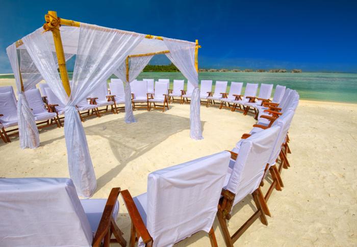 Bora Bora wedding venue