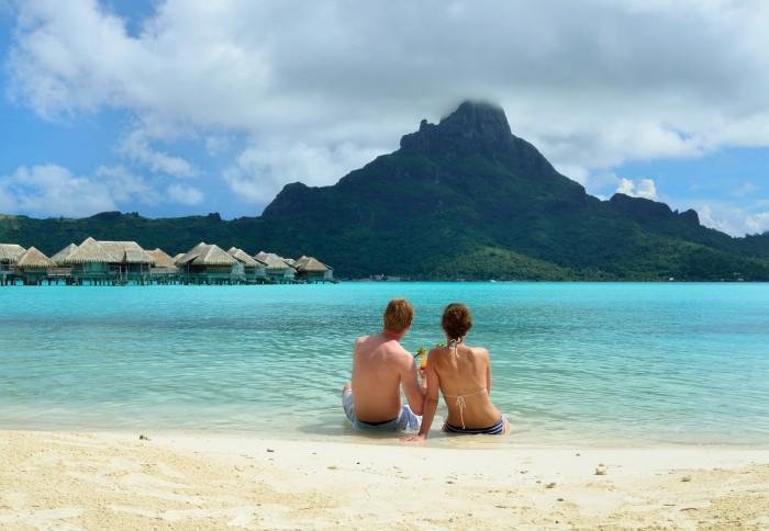 Bora Bora beach