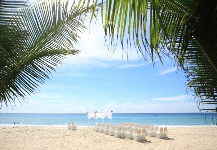 Caribbean wedding ceremony