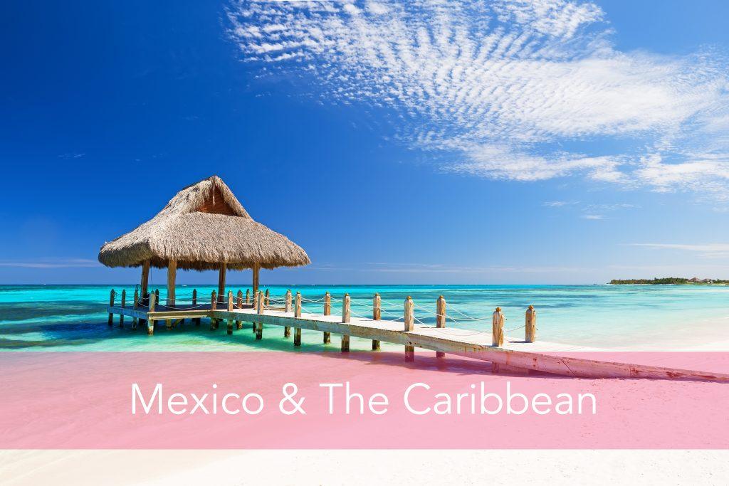 Caribbean beach hut
